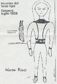 La historia del encuentro y conversación de Walter Rizzi con un extraterrestre en 1968.