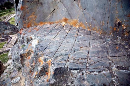 Ollantaytambo: ¿evidencia de una avanzada tecnología de corte de piedra?