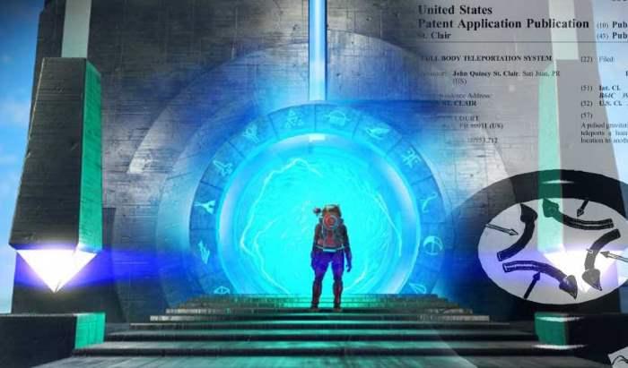 El «Sistema de teletransportación por impulso gravitacional» patentado para teletransportar a un ser humano de un lugar a otro