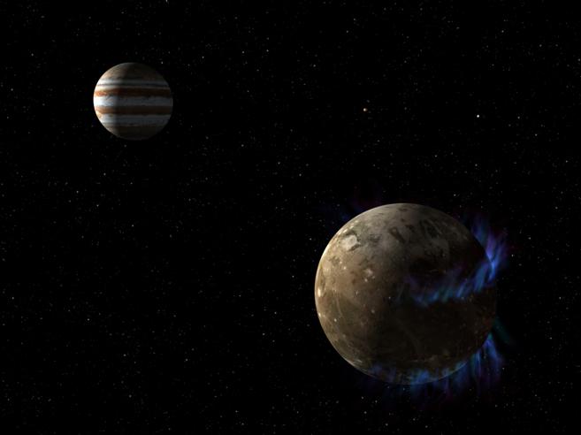 Ganímedes, la mayor luna de Júpiter, alberga más agua líquida que la Tierra