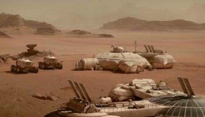 Imagen de la NASA muestra un extraño objeto en Marte similar a una chapa metálica