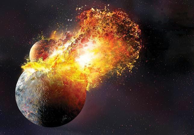 La formación de la luna acabó con la vida en marte
