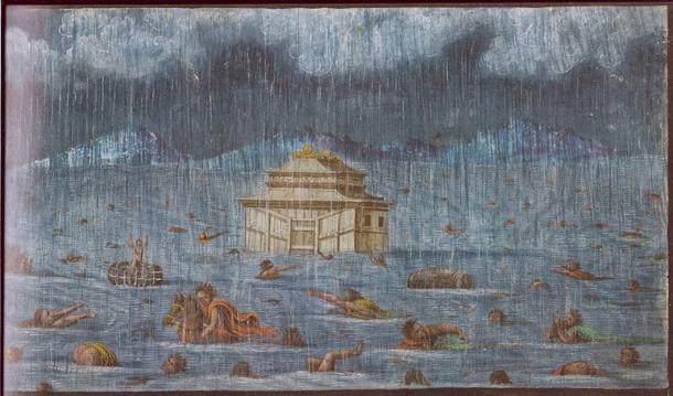 La similitud sorprendente entre hindúes inundación la leyenda de Manu y el relato bíblico de Noé