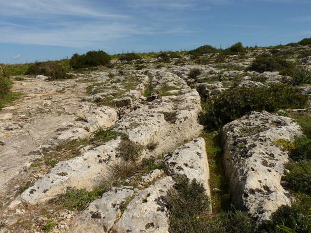 Líneas prehistóricas de Malta