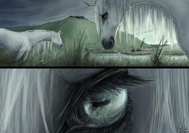 Los kelpies, caballos sobrenaturales de la mitología celta