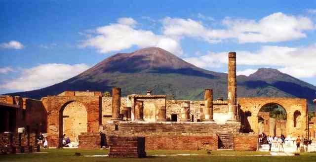 Los templos de Pompeya estaban alineados con las estrellas