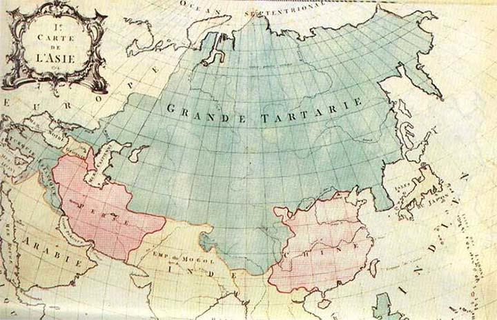 Tartaria, el «país más grande del mundo», habría sufrido una inundación de barro masiva, para ocultar y «resetear» la historia.