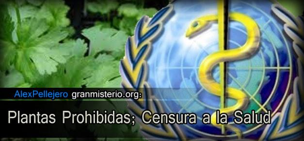 Plantas Prohibidas:Censura a la Salud.