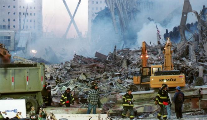 Sargento de policía afirma haber visto un fantasma entre los escombros de los atentados del 11S