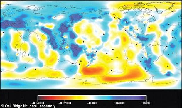 Un vistazo intraterreno: Científicos crean el mapa más preciso del interior de nuestro planeta