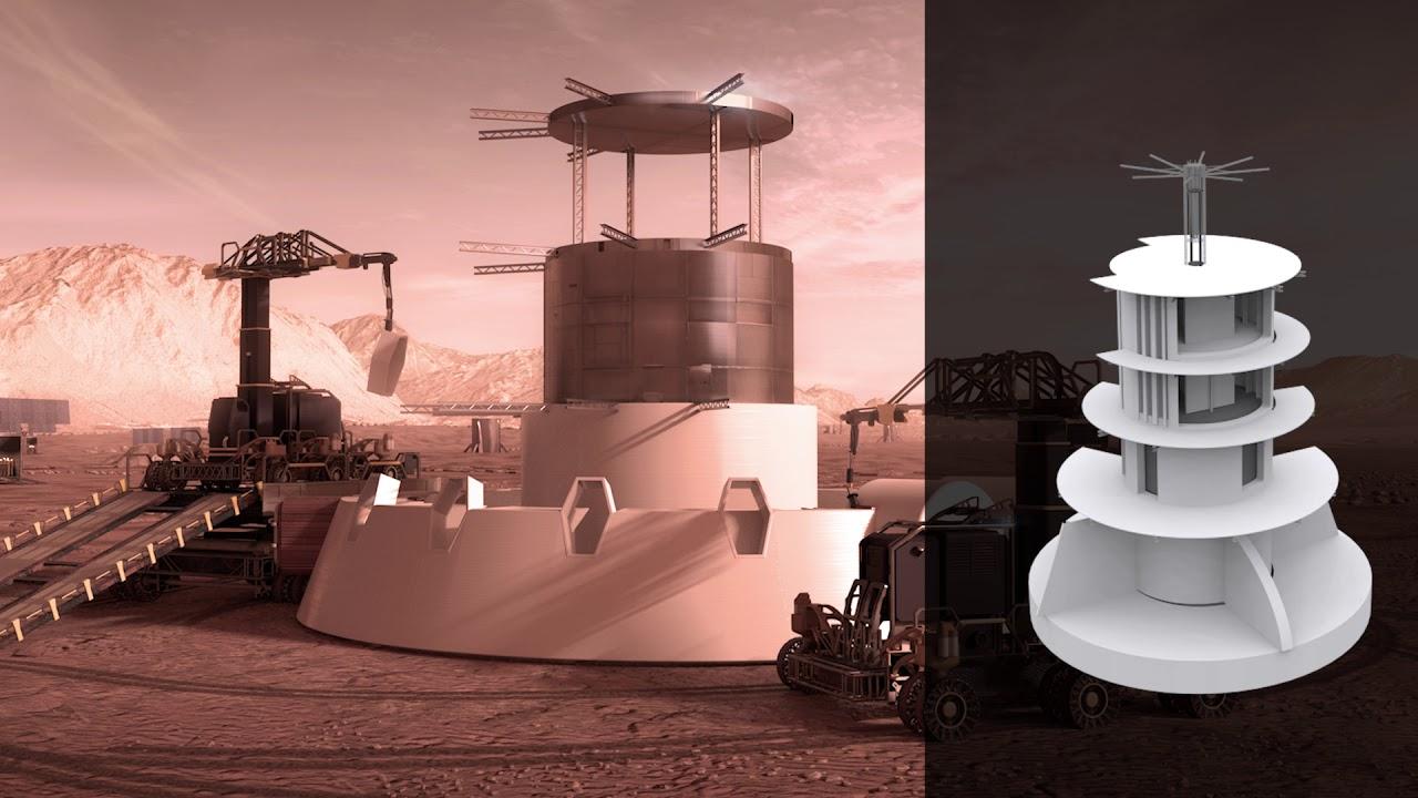 VIDEOS | Así pueden ser las futuras viviendas para colonizar Marte