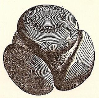 ¿Las Extrañas Bolas Prehistóricas de Piedra Tallada Representan los Átomos?