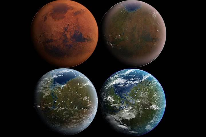 ¿Podremos convertir a Marte en la Tierra 2.0? DARPA diseña organismos para terraformar el planeta rojo