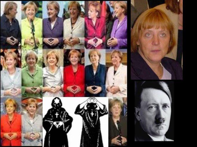 Angela merkel la hija de Hitler