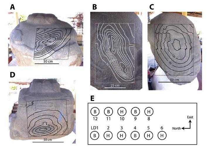 Antigua cultura mesoamericana conocía el magnetismo y lo usaba en sus esculturas