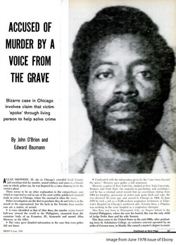 Ayuda a la Policía a resolver su propio asesinatodesde el mas allá