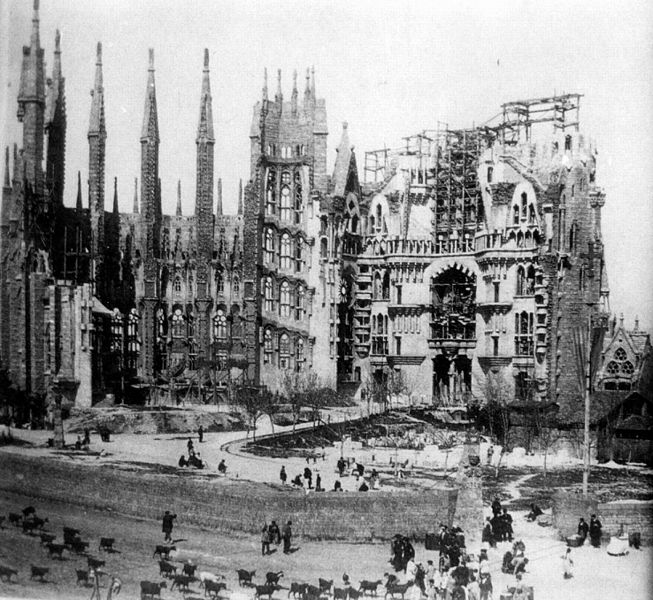 Berenger Saunière y Antoni Gaudí. El secreto del enigma quizás esté en la Sagrada Familia