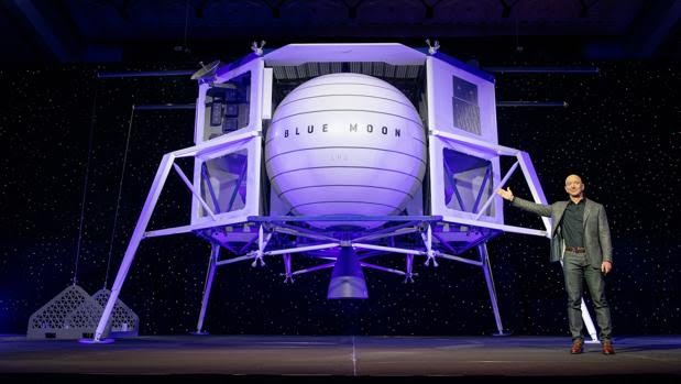 BLUE MOON Jeff Bezos desvela una nave para volver a la Luna