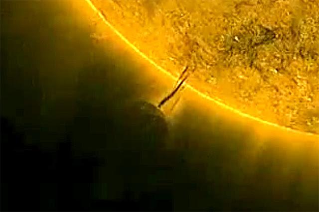 Continuan apareciendo objetos cerca del sol