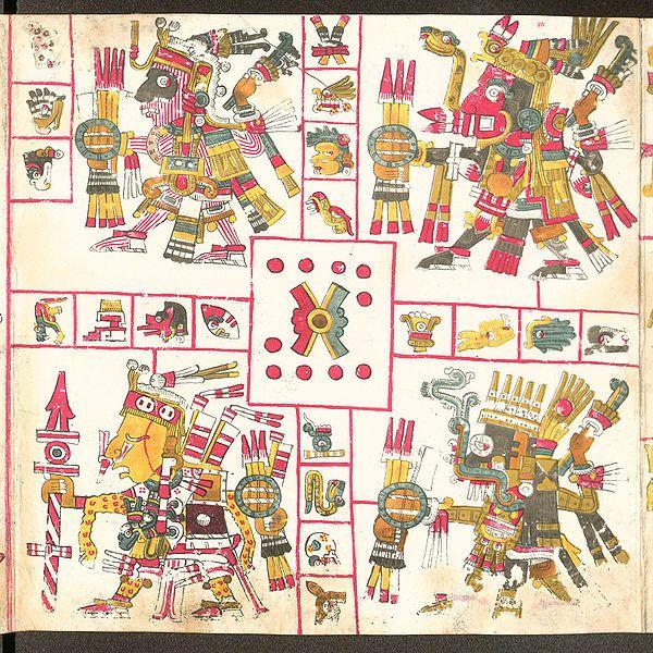 Dioses aztecas o algo mas