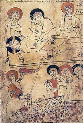 El Codice Pray y el Sudario de Turin