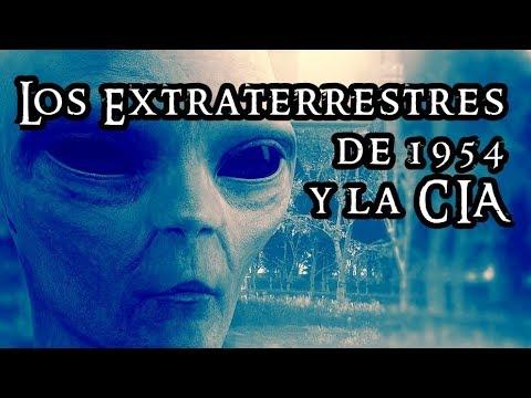 El escándalo de la CIA y los extraterrestres en 1954
