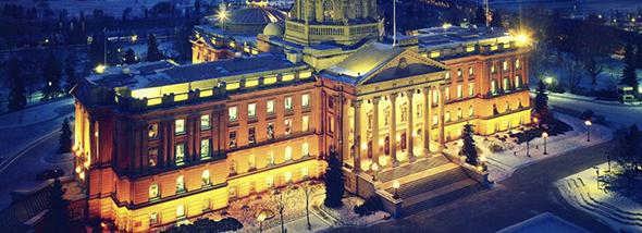 El Siniestro Edificio Legislativo de Manitoba