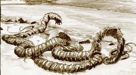 """Lagarfljótsormur (literalmente, """"el gusano de Lagarfljót"""