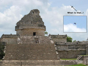 Los Ovnis De Uxmal Y Chichen Itzá