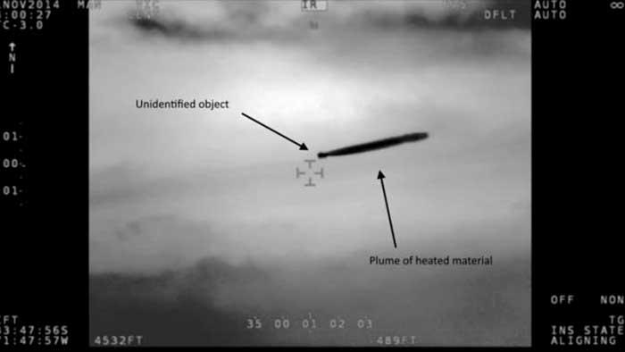 Los pilotos de la Marina de los EEUU obligan a la Administración a tomar en serio los avistamientos
