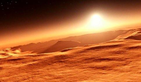 Marte tenía atmósfera habitable, la perdió por una catástrofe