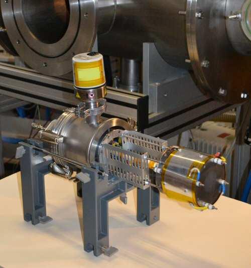 Motor por plasma para propulsar satélites espaciales