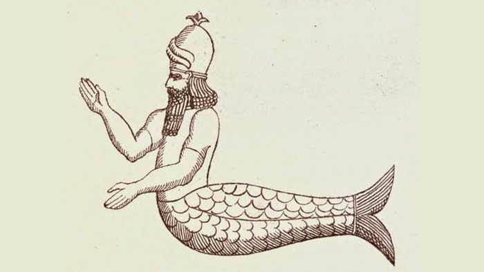 Oannes el dios pez creado por Enki
