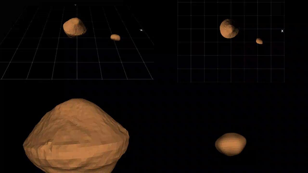 Un masivo asteroide con 'luna' propia se aproximará al máximo a la Tierra este sábado