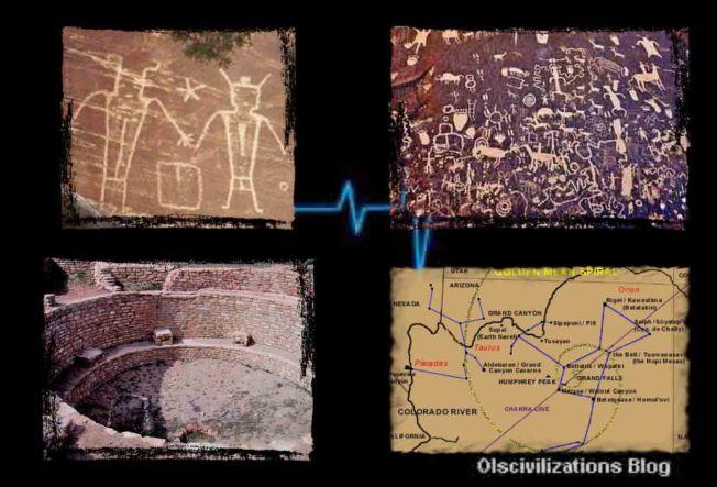 ¿Quiénes construyeron una red de subterráneos en el subsuelo americano?