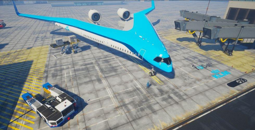 En el avión del futuro viajarás en las alas