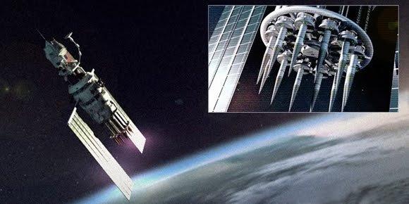 Armas avanzadas basadas en el espacio:Las Varillas de Dios