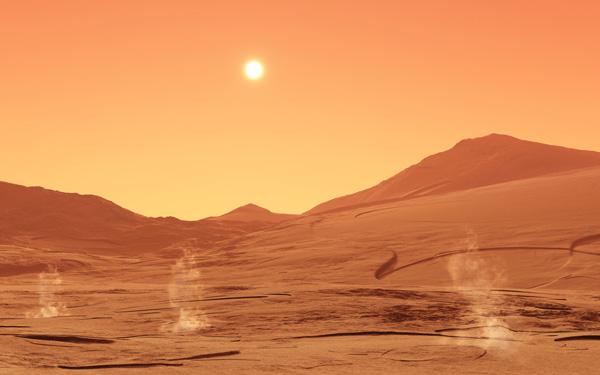 Antigua civilización en Marte fue aniquilada con bombas nucleares, según científico de EE.UU