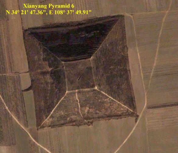 China, hace 12,000 años, una raza extraterrestre usó la pirámide de Xiangyang como puertoespacial