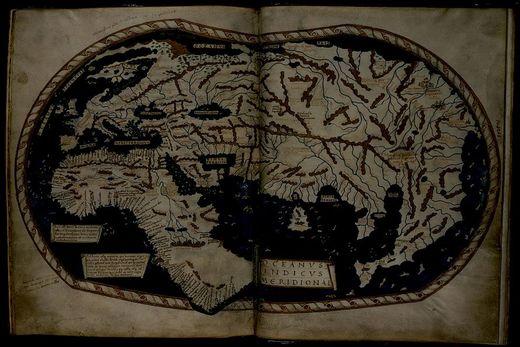 """Colón sabía a dónde iba – El mapa de Heinrich Hammer y """"La cola del dragón""""."""