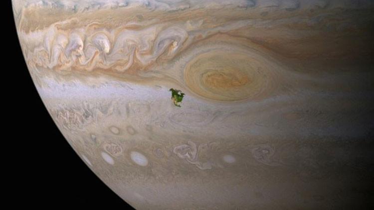 Colonizar Júpiter podría ser más fácil que Marte