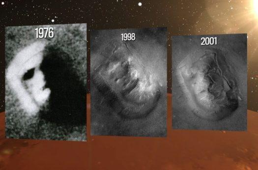 Cydonia, la cara y la pirámide en Marte son REALES, afirman ex científicos de la NASA