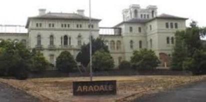 el hospital psiquiátrico de Aradele