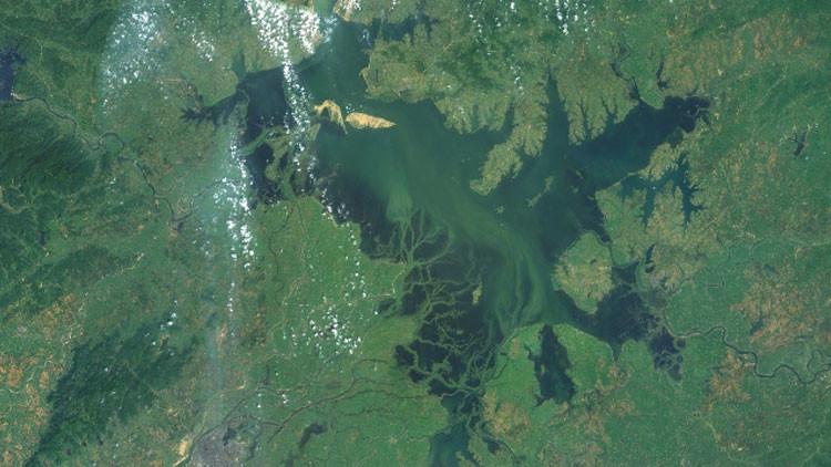 El 'Triángulo de las Bermudas' de Oriente: un lago chino se traga a más de 1.600 personas