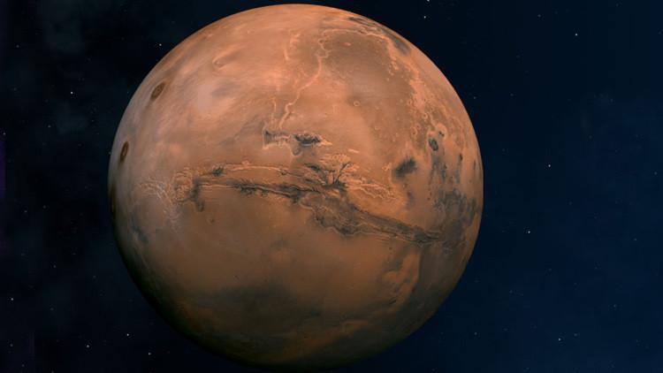 Emision misteriosa de neutrones en Marte