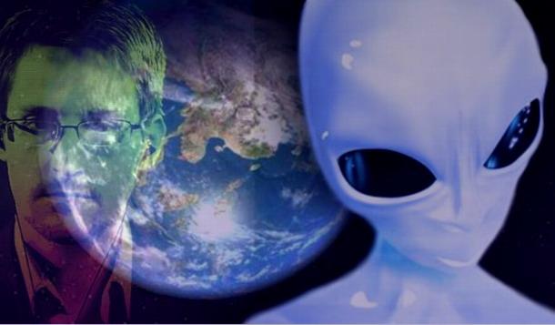 Extraterrestres gobiernan al mundo según Edward Snowden