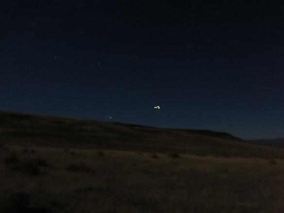 Fotografías de testigos ovni flotando en Oregon a distancia