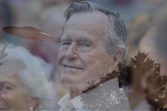 """George Bush padre sobre los OVNIS: """"Los estadounidenses no pueden saber la verdad"""""""