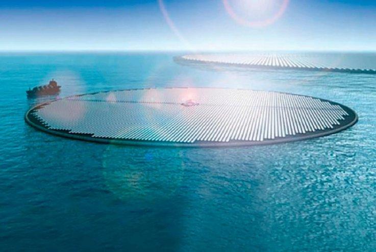 Islas flotantes que convierten el CO2 en combustible podrían detener el cambio climático