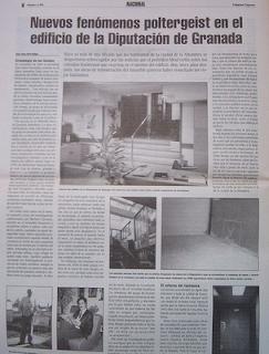 La diputacion de Granada. Uno de los expedientes X por excelencia de la historia de España